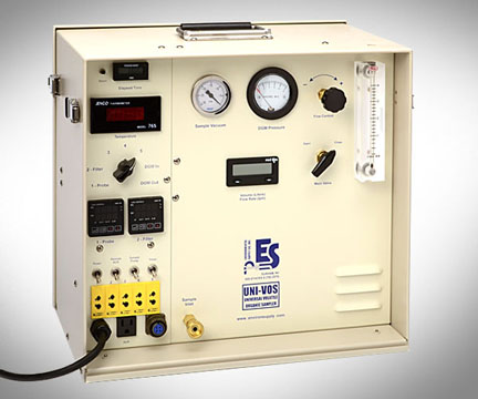 Product Image of Low Flow Control Console/Digital Dry Gas Meter